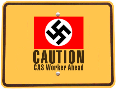Caution! CAS Worker Ahead!