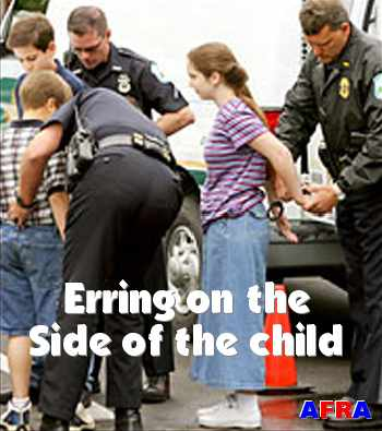 Erring on the side of the child